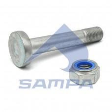 Болт М30x3,5x170 рессоры с гайкой BPW (пр-во Sampa)