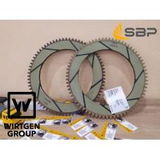 Зубчатый диск сцепления для дорожной фрезы Wirtgen